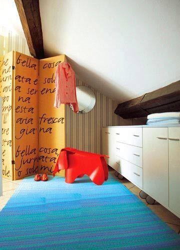 方案4:善用储物柜以及趣味装饰