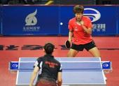 图文:乒乓球亚洲杯郭焱获冠军 郭焱闭目养神