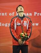 图文:2011乒乓球亚洲杯 吉田海伟获季军