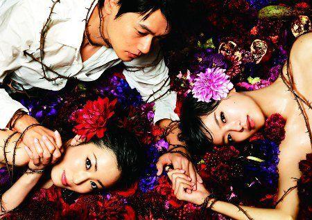 荣仓奈奈/荣仓奈奈、菅野美穗、ARAT为日剧《蜜之味》拍摄官能美海报