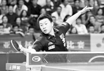 马龙勇夺亚洲杯乒乓赛男单三连冠