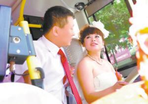 盘锦美女司机特色婚礼引关注图