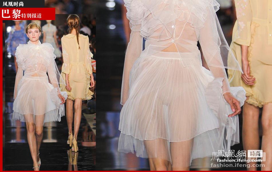 凤凰网时尚编辑奔波在2012春夏巴黎时装周的各大秀场中,看着众多品牌图片