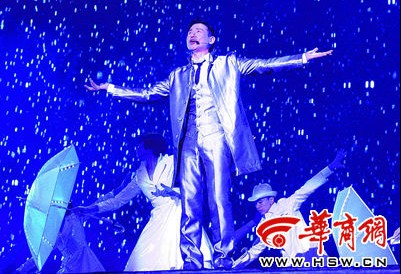 5月27日晚,张学友郑州演唱会现场 本报记者 王智 摄