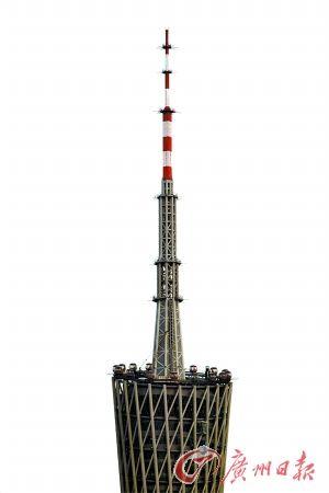 广州塔摩天轮外景。(资料图片)