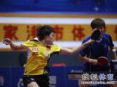 图文:[乒乓球]全锦赛单打收官 郭跃奋力一击