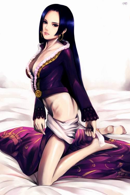 每一张都值得珍藏 《海贼王》女帝同人美图图片