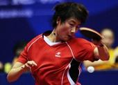 图文:全国乒乓球锦标赛赛况 丁宁展示扎实功底