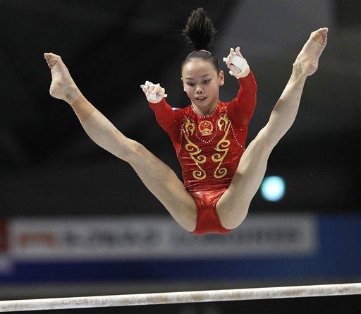 图文:女子团体决赛中国队赛况