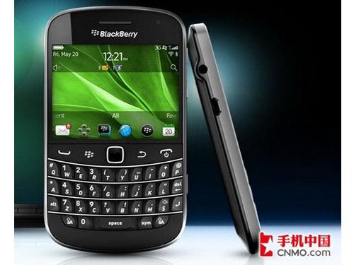 全键盘触屏旗舰 白色黑莓bold 9900现身