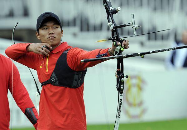 选手:中国奥运测试射箭赛伦敦图文比赛陕西高考舞蹈体育图片