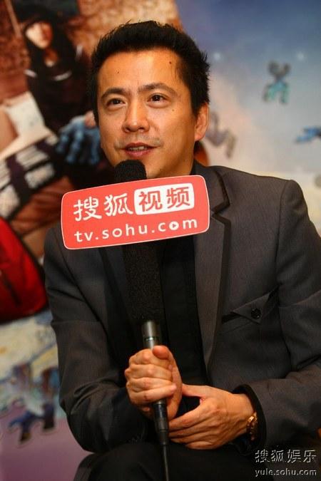 王中磊专访(点击观看高清组图)