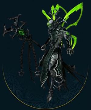 一些阶层较高的亡灵巫师(蜘蛛女神的祭司)将获赐一种提取自蜘蛛女神神圣毒液的长生灵药,他们必须将其与食物混合食用。