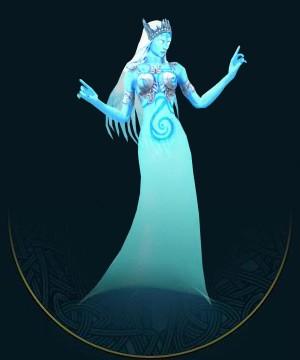 泉灵是连接最纯净水源的水精灵,因此,她们的身影常常会出现在水之龙脉或纽带附近的泉水和瀑布中。