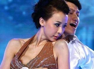 台湾第一美女萧蔷在大陆节目露点图