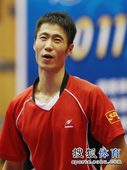 图文:[乒乓球]全锦赛男团决赛 无语问苍天