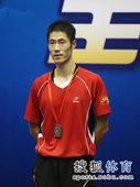 图文:[乒乓球]全锦赛男团 王励勤挂上银牌