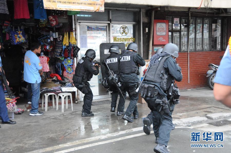菲律宾北部发生抢劫银行绑架人质事件 8人质获释_新闻