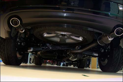 帝豪SUV车型EX8谍照 进入量产前最后阶段高清图片