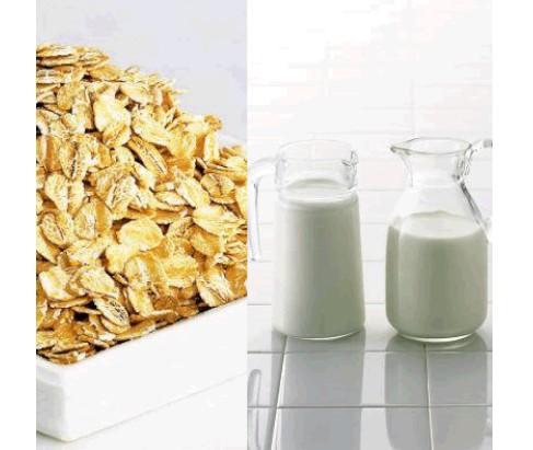 功效:酸奶含有氢昆类衍生物,可以分解皮肤的老化角质细胞,抑制和祛除色素斑点,因而又很好的祛斑美容效果。酸奶和燕麦片中的维生素e等活性物质对皮肤又祛斑增白的作用。