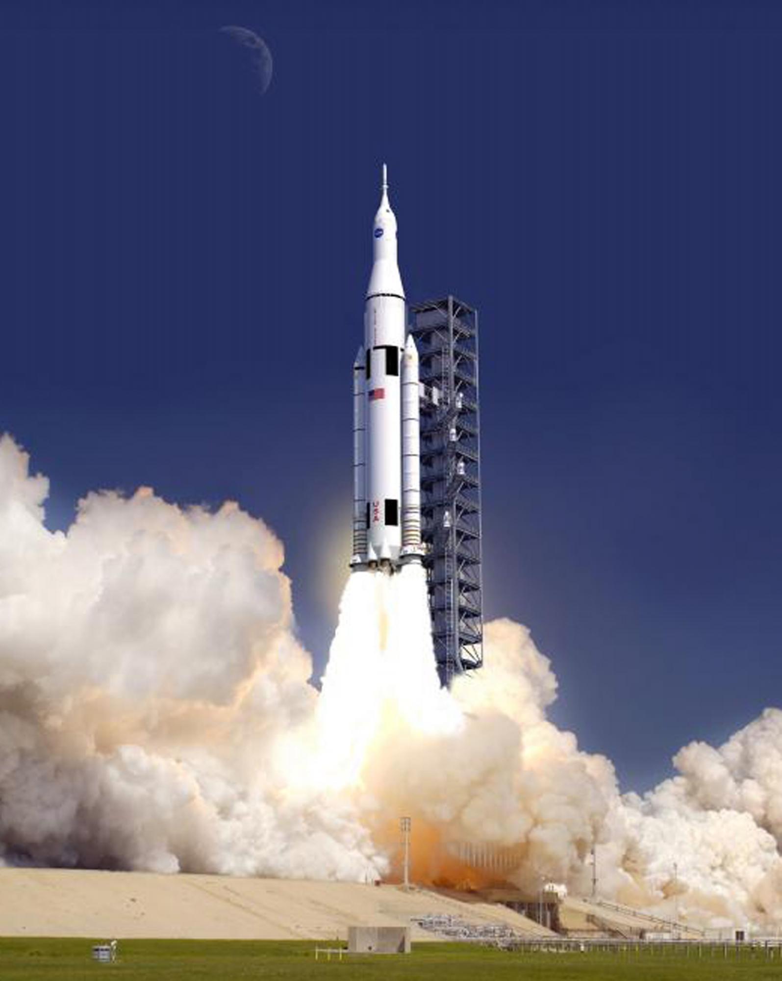 NASA新型火箭揭开神秘面纱 助人类2030年后登陆火星(组图)