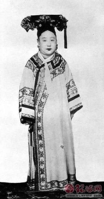 清朝妃嫔格格们的真实照片
