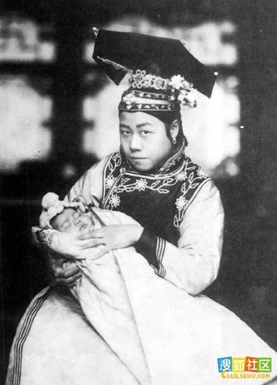 清朝妃嫔格格们的真实照片(组图)