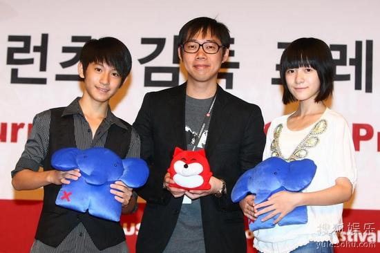 《星空》导演林书宇与两位小演员