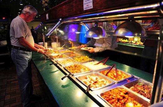 7美元管饱 美国的中式自助餐餐厅(组图)