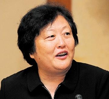 中国红十字会新任常务副会长赵白鸽。 图/CFP