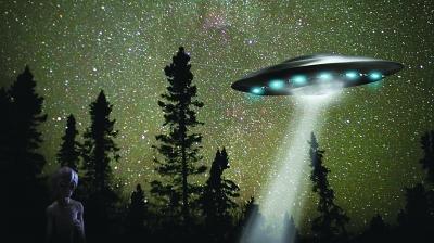 UFO假想图。(资料图片)