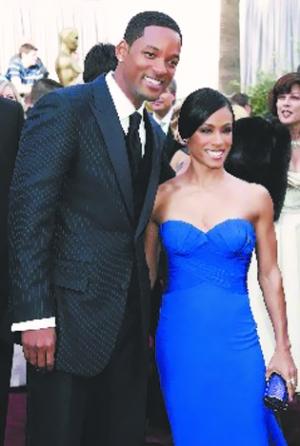 好莱坞男星威尔・史密斯与老婆贾达