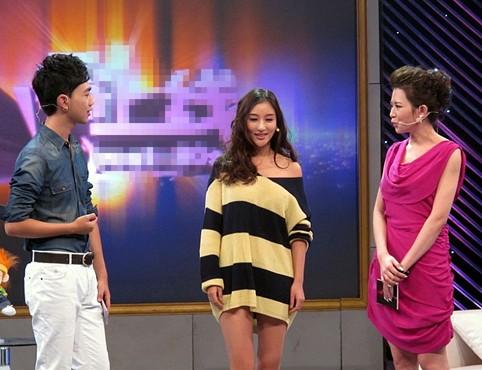 刘羽琦做客访谈节目