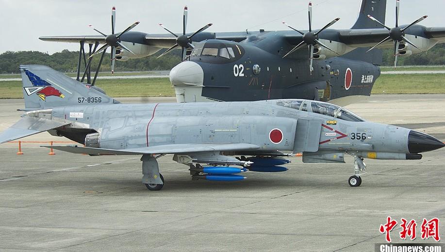 日本 自卫队阅兵_15J战斗机在阅兵式上展出(组图)-搜狐滚动