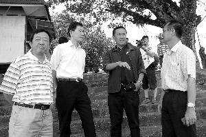 中国工作组勘察湄公河水域