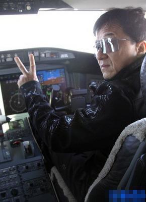 素材 成龙私人飞机图片 成龙私人保镖 成龙价值2亿私人飞机-成龙私人