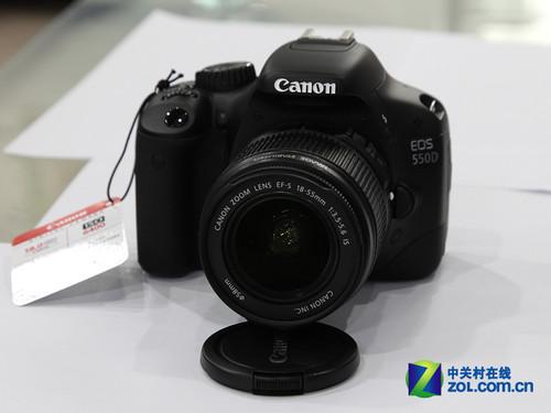 图为:佳能数码单反相机550D