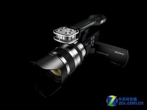 索尼NEX-VG20E搭载E18-200mm镜头