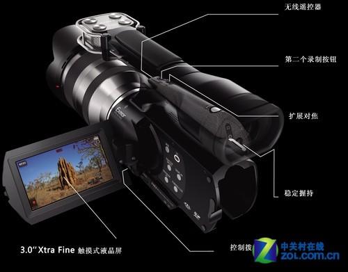 索尼VG20E操控介绍