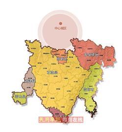 一城(天府新城)则集聚发展中央商务,总部办公,文化行政等高端服务图片