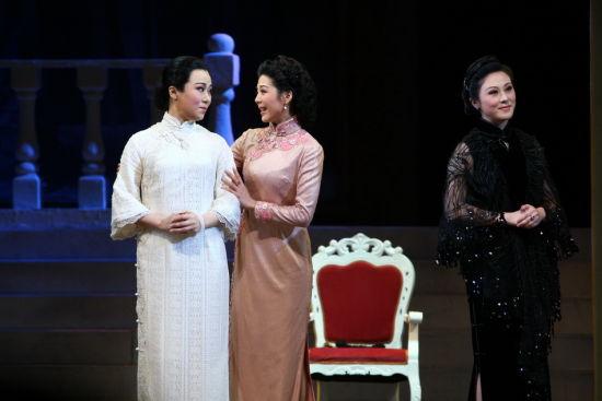 """以""""宋庆龄""""为表现核心的新编现现代京剧《宋家姐妹》今明两晚在梅兰芳"""