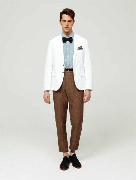 Boy减龄白色西装