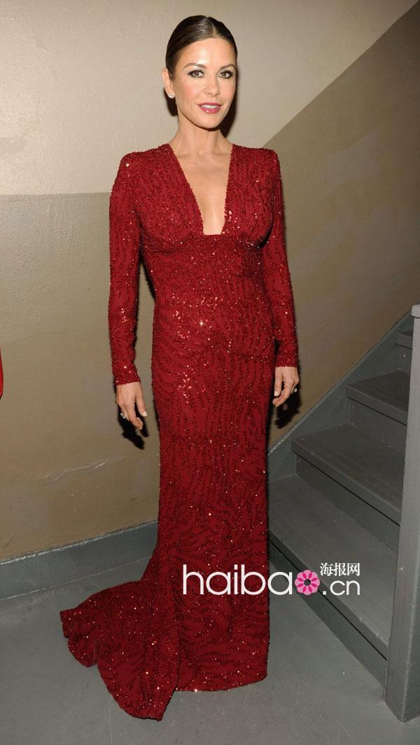 尼奖颁奖典礼-没有最美,只有更美 明星们华丽夺目的艾莉 萨博 Elie