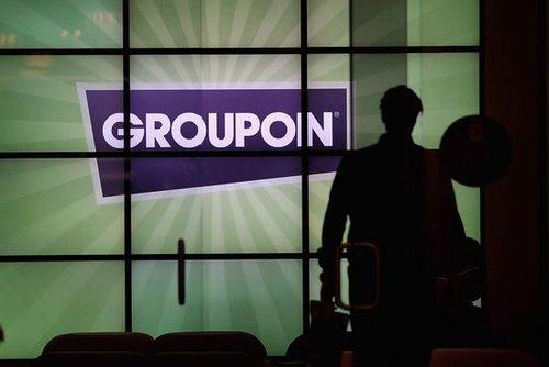美国团购网站Groupon资料图