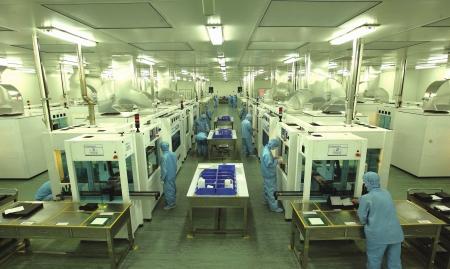 双流新能源产业天威生产一线图片