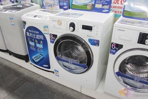 拒绝衣物霉变 三星原装滚筒洗衣机推荐