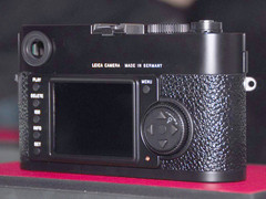 图为:徕卡数码相机M9