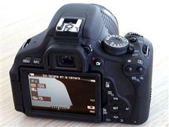 滤镜功能单反 佳能600D配18-55IS促销