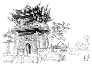 乌镇西栅关帝庙文昌阁图片