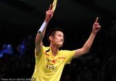 图文:丹麦羽毛球赛22日赛况 谌龙剑指冠军